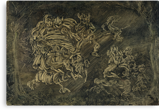 Walpurgis Nacht by Peter Searle ( the Elder )
