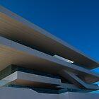 Americas cup building in Valencia. Spain by naranzaria