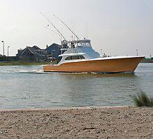 Offshore Fishing Boat by hatterasjack