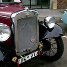 Austin Vintage Car by reflector