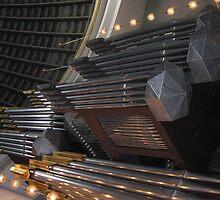 Organ in church in Berlin by sabosha