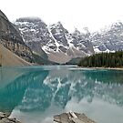 Lake Moraine - Banff National Park - Alberta - Canada  by paolo1955