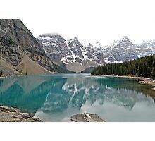 Lake Moraine - Banff National Park - Alberta - Canada  Photographic Print