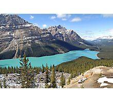 Peyto Lake - Banff National Park - Alberta - Canada Photographic Print