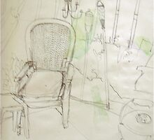chair on the lanai by Tori Flick