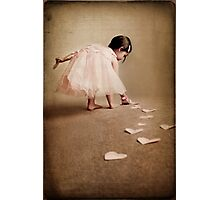 follow the love trail... Photographic Print