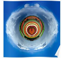 Tiny Planets - Tulip Love Poster