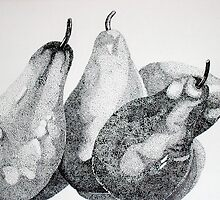 Four Pears or Two Pairs by Marilyn Healey
