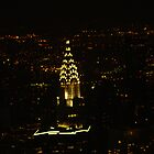 Chrysler Building At Night, New York City by elbeasto