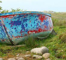 Abandoned Boat, Mull Scotland by Mishimoto