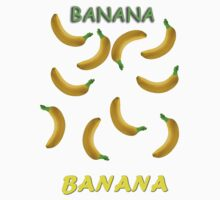 Banana Stickers! by ChaosSeer