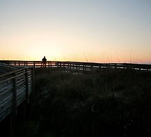 Boardwalk on Myrtle Beach, SC 2 by Jesse J. McClear