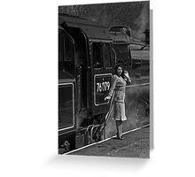 East Lancashire Railway, Rawtenstall Greeting Card