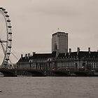 London Eye by woodgag