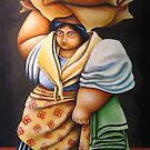 BABAE SA PIER (WOMAN AT THE PIER) by palma tayona