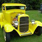 Ole Yella... memories........... 1931 Ford... by Larry Llewellyn