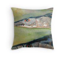 Fish Head Throw Pillow
