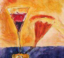 Wine Glass by Tomoe Nakamura