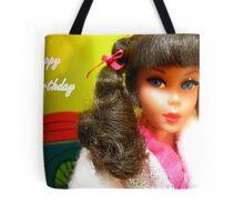 Barbie Happy Birthday Greeting Card Tote Bag