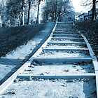 Stairway to a Street of Cold by MissElenaT