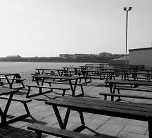 Out of Season - Coney Beach, Porthcawl, March 2009 by Victoria Morton