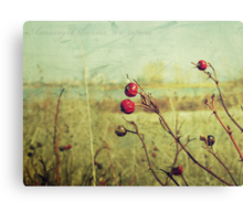 Amongst thorns, we ripen : Featured Work Canvas Print