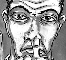 Evil... by Sam Dantone