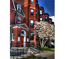 Streets of Boston Photographic Print