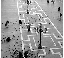 St Marks Square Venice Photographic Print