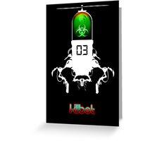 Killbot 03: Bitter Pill Deluxe Greeting Card