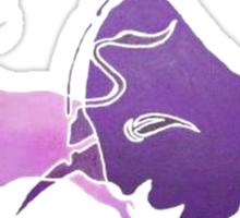 Bull Fight in Lilac Sticker