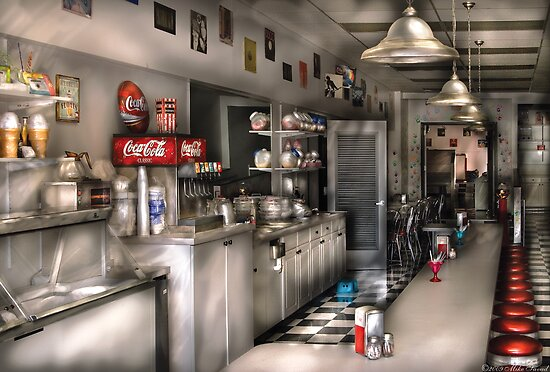 The Soda Fountain  by Mike  Savad