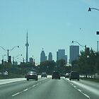 Approach To The CN Tower (Toronto, Canada) by brotheroutsider