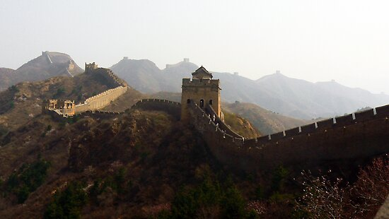 Great Wall Jinshanling by bfokke