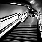 Exit in black and white by jdphotography