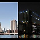 Brooklyn Bridge by Day and Night by Andrew Ness - www.nessphotography.com