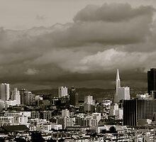 Rainy Day in San Francisco by kellinasf