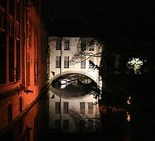 Brugge on a spring night by Micky McGuinness