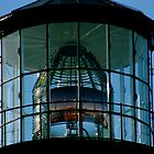 Yaquina Head Light House Lens by Julie Beitzel