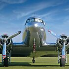 DC3 at Duxford by Geoff Spivey