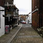 A Street In Rye by David A. Everitt (aka silverstrummer)