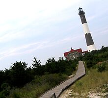 Boardwalk to the Lighthouse by INTERACTION