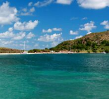 St Kitts Panoramic by Tom Clunn