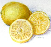 Lemon Wedges by Marilyn Healey
