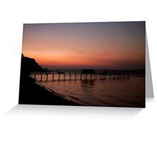 Shelly beach,Mornington Pennisula Greeting Card