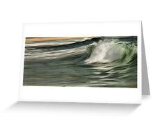 Silken Seas Greeting Card
