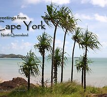 Cape York Postcard by Heinz