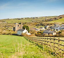 Tin Mines (Derelict) Carnkie Cornwall UK by DonDavisUK