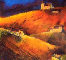 Valle D'or I by Fee Dickson