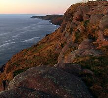 Chasing the Light at Cape Spear by Brian Carey